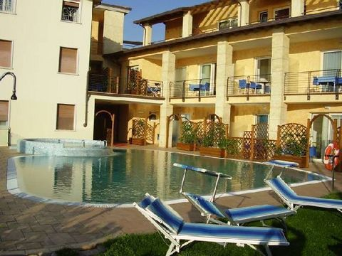 This accommodation is part of a new, beautiful, small apartment complex located on the eastern shore of Lake Garda. The complex has been divided into 10 modern studios and apartments. Guests of the complex can use the beautifully landscaped pool with...