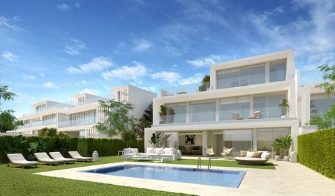 Contemporary design this front line golf semidetached villas are available from 3 up to 6 bedrooms, all aof them with the highest qualities specifications on the market. • Open floor plan • Floor to ceiling windows ° Large terraces and gardens • Doub...