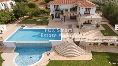 Detached spacious four bedroom villa in Argaka for short term rental. The property is fully furnished and equipped and offers wonderful sea and mountain views. Dont miss out on this unique property. Property Details * To Rent * Property Type: House *...