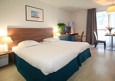 The apart'hotel is ideally located in the heart of the city center, close to the