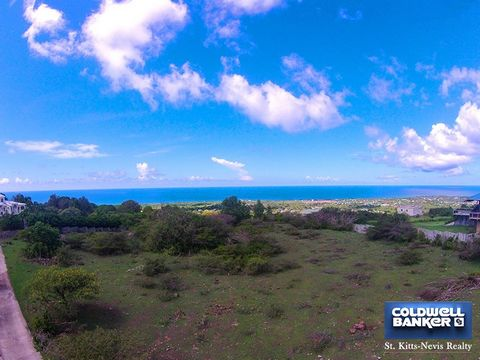 This exceptional lot at an elevation of 700 feet above sea level with 180 degree views over the Caribbean Sea to St. Kitts is situated on the South West quadrant of Nevis. The most colourful, breathtaking sunsets can be seen along with the most wonde...