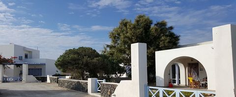 This 2 + 1 bedroom Villa is located close to one of the most popular beaches of Santorini Island, overlooking the beautiful countryside view of the island and enjoys the stunning Sunset & Sunrise. This unique villa is withing walking distance to the ...