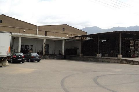 Ariochorio, Kalamata (13 km from Kalamata on the old national road) . For sale a plot of 6,200 sq.m. in which there is an industrial area of about 2000 sq.m. (former Messina Refrigerator), a gas station and a first floor residence of 95 sq.m. with sh...