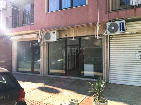 Burgas. For sale is a 33 sq.m. Shop/Office near the Beach in Pomorie city For sale is a shop, located on the ground floor in the residential area of Pomorie, near the central beach. There is a school, bakery, café, shops, restaurants and other amenit...