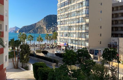 A luxury 2 bedroom apartment on the first floor of a new building with incredible sea views in the second row of the Arenal beach. This apartment is located 250 meters from the center of Calpe and all its services. Alicante airport is approx. 76.9 km...