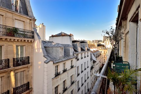Found in the super-chic area of Saint-Germain-des-Prés, a particularly charming district with a distinctive atmosphere, a spirit of freedom, and some of the most renowned Parisien cafés, frequented in the day by France's favorite poets and writers. •...