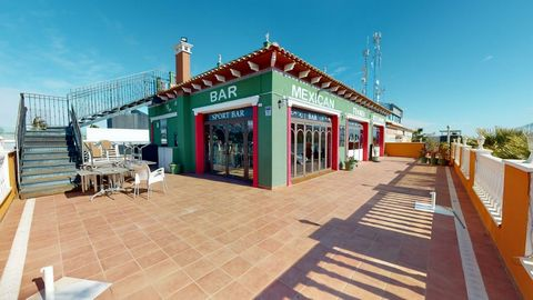 Fantastic commercial premisis, located in Campoamor Centro commercial La Ronda. Currently successfully running as a resturant & bar. Outside is a grand terrace, with approximately 200 seats, an upstairs solarium with outside bar/kitchen with 80 seats...