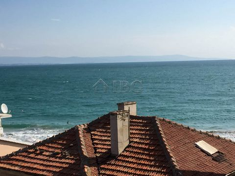 Burgas. Apartment with 2 bedrooms, 2 bathrooms and SEA view, Pomorie IBG Real Estates offers for sale a fully furnished apartment, located on 4th floor in residential building in the old town of Pomorie at 50 meters from the beach. The property is su...