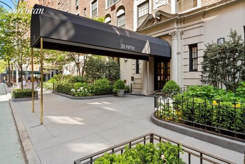 Condo in Gold Coast on Fifth Ave. in Greenwich Village! It's all about the location, being in the heart of the historic Gold Coast on Fifth Ave. and corner of 9th St. This beautifully renovated pre war charm is the perfect home to be, or simply a pie...