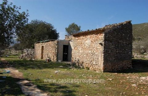 Two Plots of Rustic Land, one of which has a ruin with a terraced area in front a short drive from Pego and close to the Village of Beniali in the Vall de la Gallinera.The land is flat and the views are spectacular of the surrounding countryside and ...