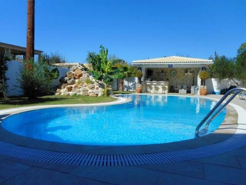 In the sought after area of Agios Georgios, at a location where the endless blue dominates and at just a breath away from the unique sandy beach with the crystal clear waters, lies this wonderful villa, which reflects the style and atmosphere of sout...