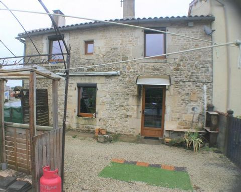 Our ref- AI4714 This south facing property is suitable for a small family or as a rental property. It is a lovely small house of approximately 88 m2 habitable area situated in village not far from the towns of Villefagnan and Sauzé Vaussais where all...