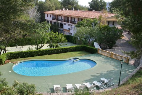 This apartment is located on the first floor next to the reception and pharmacy. It is part of the Residential La Sella, which lies just a few meters from the La Sella golf course. These apartments also have a shared pool, 200 meters away. About 500 ...