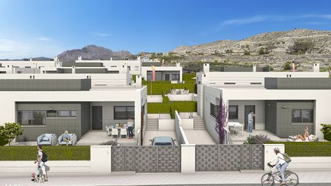 These New, Modern, Two or Three Bedroom Semi Detached Villas in Busot is located outside the city of Alicante. Situated within a beautiful complex are many amenities and facilities, whilst the coast is just a 10 minute drive away, not forgetting the ...