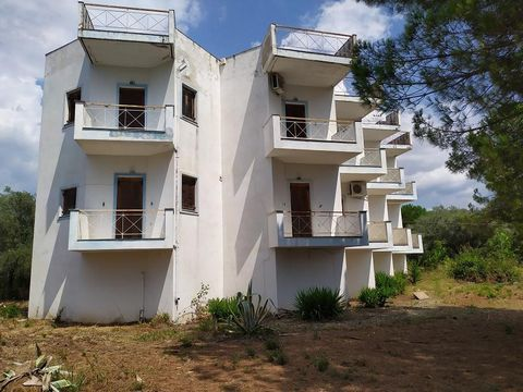 Kouvela- Beach of the Municipality of Echinaion, prefecture of Fthiotida. For sale a tourist accomodation of 360 sq.m. which located within an area of 5 acres. It's a building that has 10 furnished studios of 2 floors (5 on each floor) as well as a...