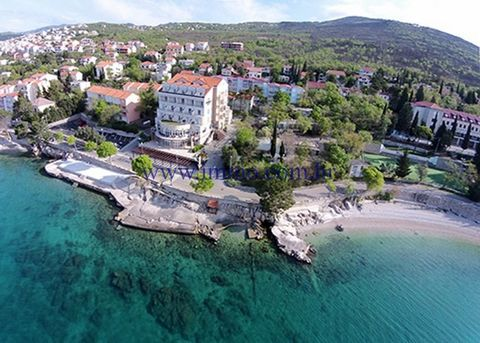 CRIKVENICA, 4* SEAFRONT HOTEL A four star hotel for sale, located next to the sea near Crikvenica. The hotel of 5,500 sq.m. is built in 2003 and renovated in 2014. It has 41 standard rooms, 3 rooms with spacious grass sundecks, and 6 Junior apartment...