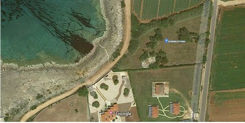 For sale seafron plot of land 5286 sq.m. in Marathopoli, Messinia, Peloponnese.  The plot is fenced, located just outside the city, not included in the urban plan. The plot is suitable and has permission for the construction of a residence up to 200 ...