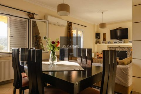 Living area consists of two bedrooms, a big living room with an open dining room, a kitchen, a bathroom and a guest WC. Living area: 87 m² Floor: 1st Features Aircondition Oil Heating Barbeque Solar Water Heating Storage Room Private Parking Alarm Sy...