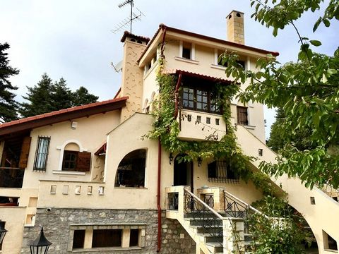 Property Location The property is located in Achladokambos area, Kalyvia Livadiou, mount Parnassos, 8km outside of Arachova, on the road to the famous ski resorts and 3km after the area of Livadi. Short Description Of Property The mansion sits in a p...