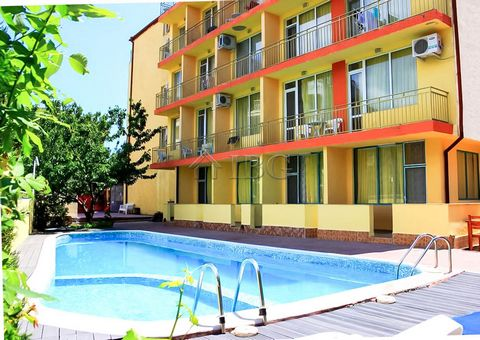 Burgas. Furnished studio with pool view in Ryor, Sunny Beach IBG Real Estates is pleased to offer for sale studio, located on the fourth floor in complex Ryor, Sunny Beach. The complex is near the popular Djanny restaurant and centre of Sunny Beach i...
