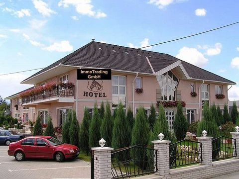 The 3*Wellness Hotel for sale is located in the centre of Kisbér, 90 km from Budapest. In the center of the triangle Pannonhalma, Mér, Bébolna. The 2,300 m2 hotel building is located on a 4,170 m2 plot and was built in 2000. The 2,000 m2 spa area of ...