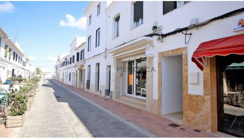 Are you looking for safe and easy investment in Sant Lluis? This is one of the best commercial premises for sale in Sant Lluis, both by its distribution and by its situation. It is located on a busy street near restaurants and cafes and has a beautif...