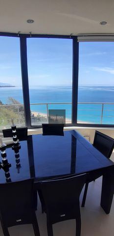 By purchasing this property you can apply for the Golden Visa program of Greece. The house is located just over the amazing beach of Monolithi, one of the longest sandy beaches of Europe. The property consists of 2 separate apartments, one on the el...