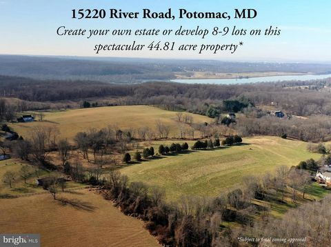 Rare opportunity to purchase approx. 44.81 acres of beautiful farm land just seven minutes west of Potomac Village. Create your private sanctuary close to the city - away from the hustle and bustle of daily life. Situated in a tranquil setting with r...