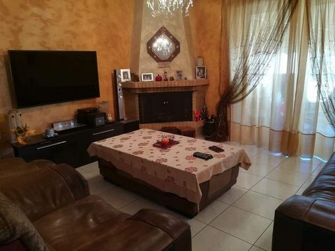 Menidi (Acharnes) Center. For sale apartment of 78 sq.m., fourth floor, construction 2008, furnished, living room with kitchen, 2 bedrooms, 1 bathroom, 1 wc, autonomous heating, air-condition, fireplace, security door, solar water-heater, parking spa...