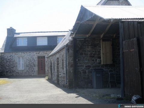 Sheet N ° Id-LGB128538 : Treduder, sector Bourg, House old farmhouse of about 75 m2 including 6 room (s) including 4 bedroom (s) + Land of 1500 m2 - - Ancillary equipment: garden - - heating : Electric Individual old farmhouse - More information avai...