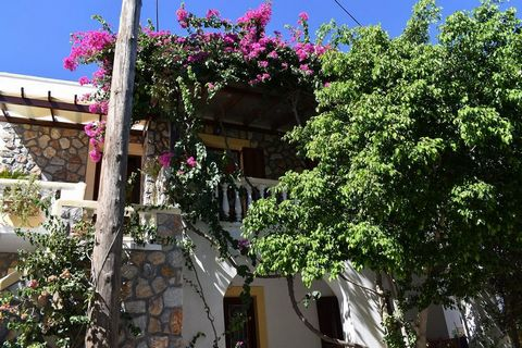 For sale a three-story apartment house of 280 sq.m. on a plot of 236 sq.m., building permit of 1990 and inhabited in 2003. The property located in the Traditional settlement of Evangelismos Leros, under the Castle of Panagia. It is 150 m from the tr...