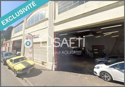 EN EXCLUSIVITE Plein centre de Nancy, grand garage automobile, vente occasion, peinture, carrosserie, pneumatique..... Le fond de commerce se compose de 2 hangars et est vendus avec : ? Partie accueil commercial 93M2 : bureau (ordi, pc, logiciel impr...