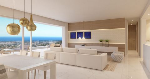 All apartments have a prestigious, luxurious and trendy image and are built to the highest quality standards. They each have three bedrooms and a spacious terrace of about 60 square meters. The penthouses also have a private swimming pool as well as ...