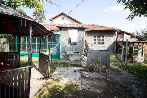 Ruse. One-storied house with outbuildings 10 min drive to Ruse city IBG Real Estates offers for sale this rural house located on the main road of a big and well organized village near Ruse. The village has school, kindergarten, bank office, a pharmac...